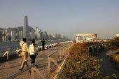 图文:圣火传递5月2日香港举行 香港尖沙咀
