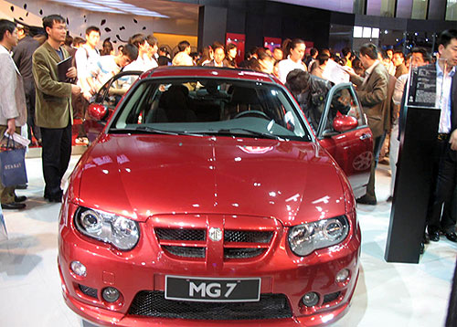 为运动而生的MG 7豪华运动版