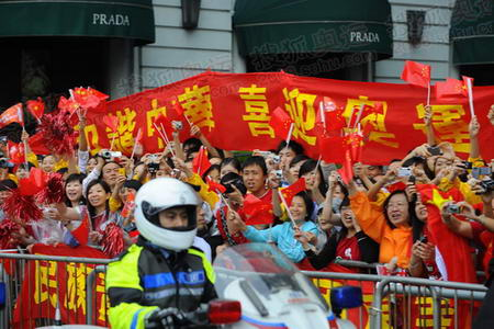 奥运官网报道团记者 陈晓明 发于香港