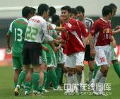 图文:[中超]深圳0-0北京国安 友好登场
