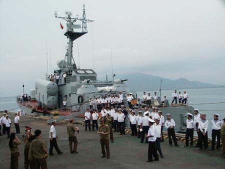 越南海军的俄制导弹艇,可发射超音速反舰导弹