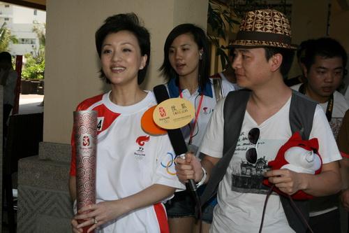 杨澜接受搜狐专访