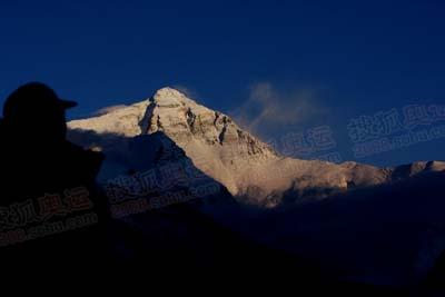 5月3日黄昏-安静而祥和的珠峰