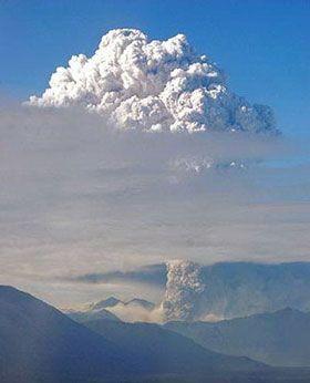 智利柴滕火山喷发