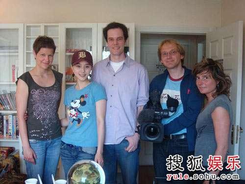 范冰冰与德国电视二台摄制组