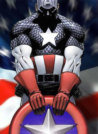 美国上尉也是个肌肉男