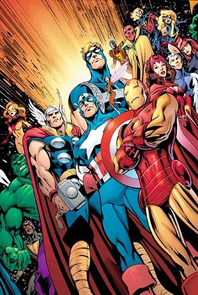 《复仇者》里的英雄团队