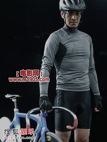 刘汉强演出自行车运动员