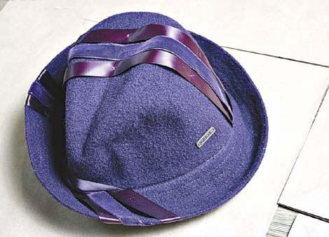 Kangol紫色贼仔帽及绅士帽 半价$285