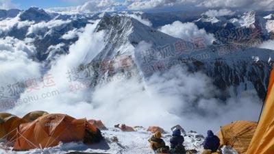 从7790营地回望璋子峰,近在眼前