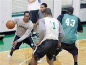 图文:[NBA]骑士VS凯尔特人 凯尔特人训练图