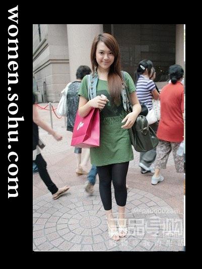 香港街头 潮人短袖衫搭配法[图],时尚服装,穿着 ...