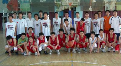 2007飞翔运动暑期篮球训练营