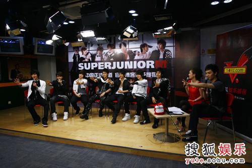 SJ-M独家做客搜狐—— 我们是SJ-M