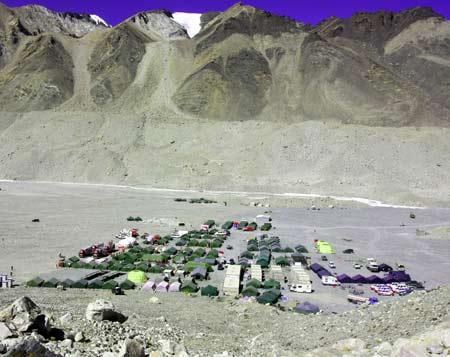 珠峰大本营全景