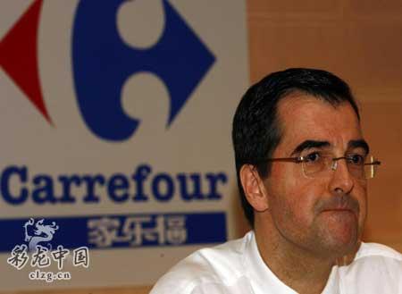 贝多拉表示,家乐福全力支持北京奥运.