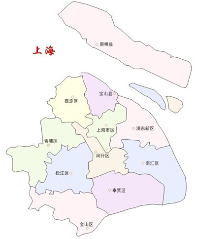 上海行政区划 和 人口结构
