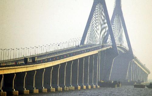 上海站路线抢鲜走之 东海大桥