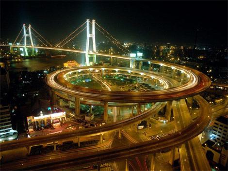 上海站路线抢鲜走之 南浦大桥