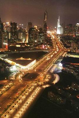 上海站路线抢鲜走之 浦东新区世纪大道