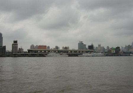 上海站路线抢鲜走之 浦西原十六浦码头