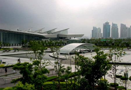 上海站路线抢鲜走之 世纪广场