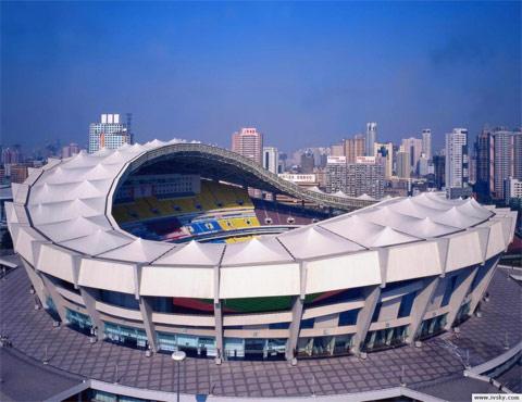 上海站路线抢鲜走之 上海体育场