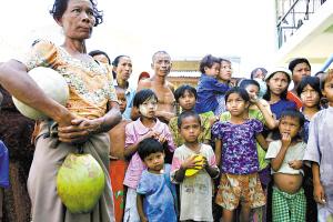 缅甸严重受灾人数达120万~190万人。联合国呼吁各国捐助1.87亿美元,以支持国际援助行动。