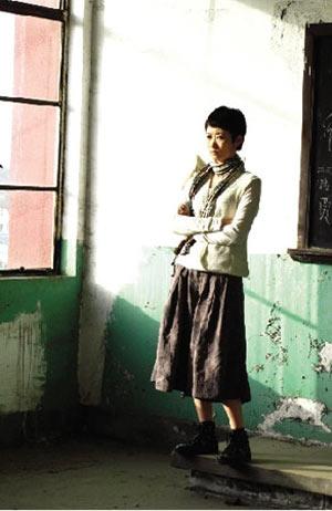 赵涛在《24城记》中的扮相