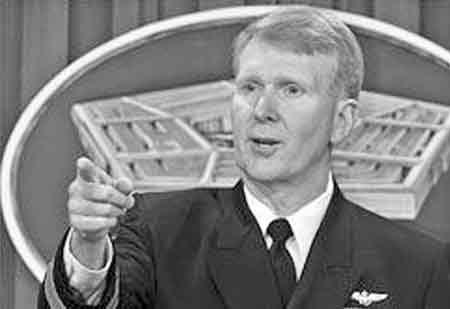 美国海军中将约翰·斯塔弗尔比姆