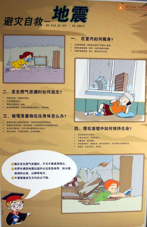 地震避险自救方法1