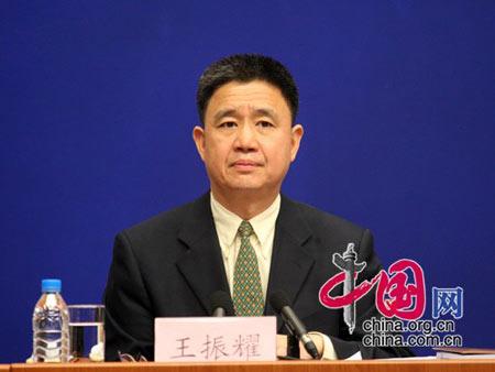 民政部救灾救济司司长王振耀