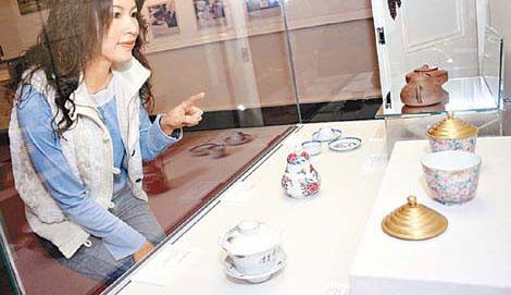 除了看古迹建筑,馆内展示的茶具文物,亦值得大家细味。