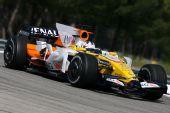 图文:F1保罗里卡多试车首日 格拉斯在赛场上