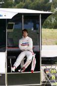 图文:F1保罗里卡多试车首日 格洛克在休息