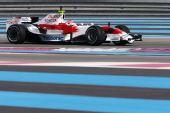 图文:F1保罗里卡多试车首日 格洛克进行测试