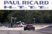 图文:F1保罗里卡多试车首日 赛道的标志