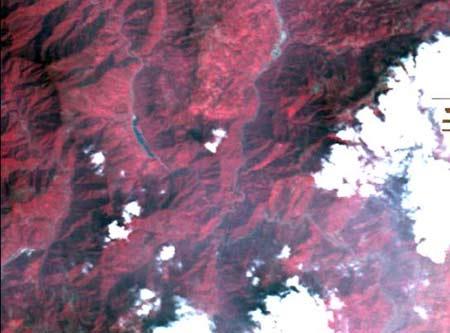 图1  震前安县CCD数据