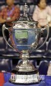 图文:汤姆斯尤伯杯奖杯 汤姆斯杯很壮观