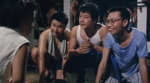 汪禹低潮时曾志伟对他甚多扶助,此为拍摄曾志伟的《大小不良》