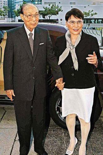 邵逸夫夫妇 捐款1亿港元