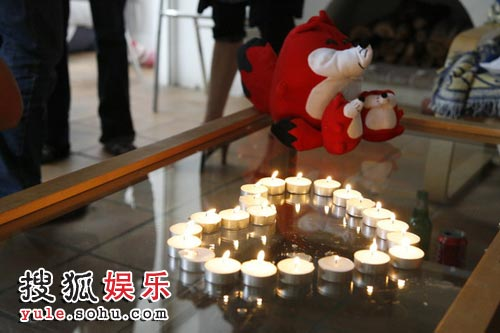 祈福中国 点亮希望