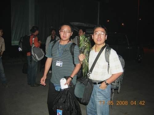 第一批抢险突击队员飞赴茂县