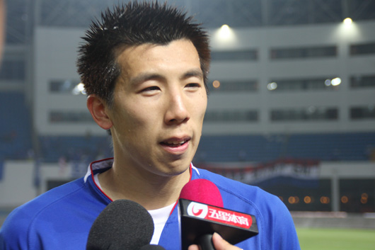 吴伟超赛后接受采访(视频 组图)