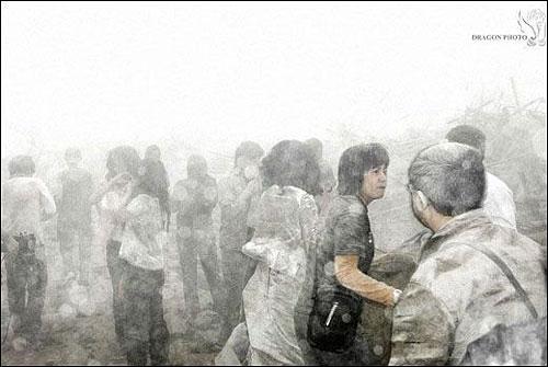 Wedding photog captures China quake Img256926611