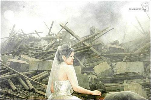 Wedding photog captures China quake Img256926612