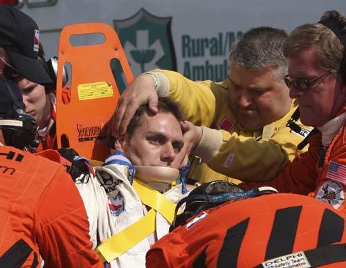 吉埃伯乐被送往医院
