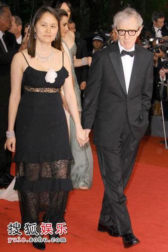 伍迪-艾伦出席《午夜巴塞罗那》首映