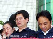 组图:青川中学含泪举行降半旗哀悼仪仪式