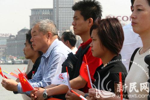 上海各界为汶川地震遇难者默哀